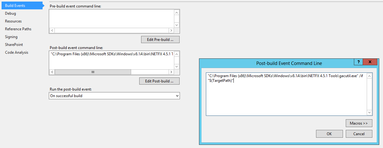 Visual studio : recycle application pool & get iis process id | FDI
